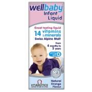 Vitabiotics Wellbaby Infant Liquid - 150ml