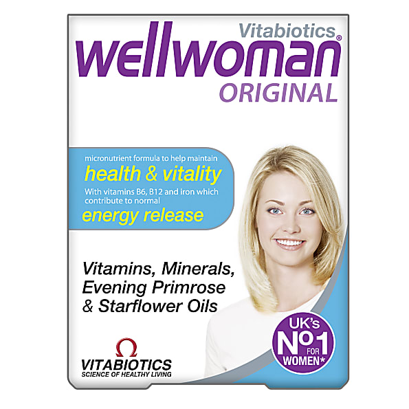 Vitabiotics Wellwoman Original 30 Tablets