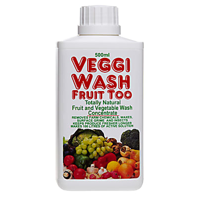 Veggi Wash Fruit Too - Totally Natural Fruit & Vegetable Wash Concentrate 500ml