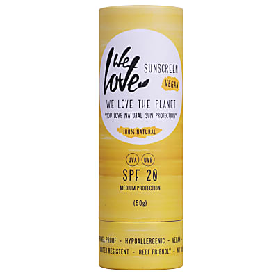 We Love The Planet Natural Sunscreen Stick SPF20
