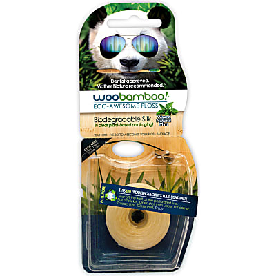 WooBamboo Eco Floss Mint - 37.5 Metres