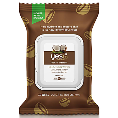 Yes To Coconut Cleansing Wipes (30 wipes)