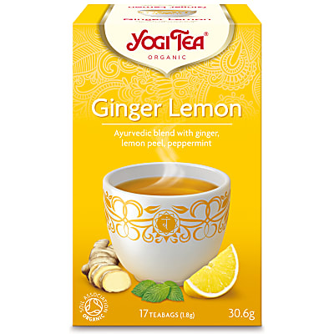Yogi Tea Ginger Lemon Tea (17 Bags)