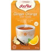 Yogi Tea Ginger Orange & Vanilla Tea (17 Bags)