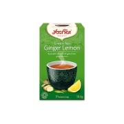Yogi Tea Green Tea With Ginger & Lemon Tea (17 Bags)