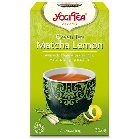 Yogi Tea Green Tea Matcha Lemon Tea (17 Bags)