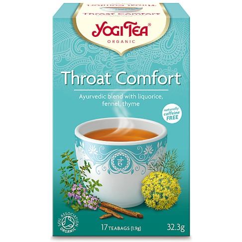Yogi Tea Throat Comfort Tea (17 Bags)