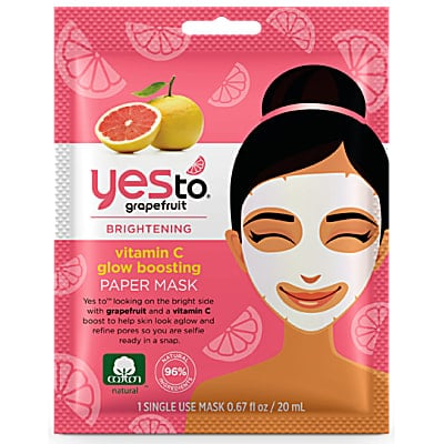 Yes to Grapefruit Pore Perfection Paper Mask - single use