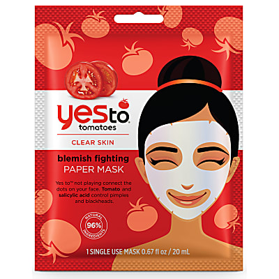 Yes to Tomatoes Blemish Fighting Paper Mask - Single Use