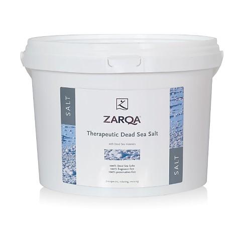 ZARQA 100% Pure Therapeutic Dead Sea Salt 5kg