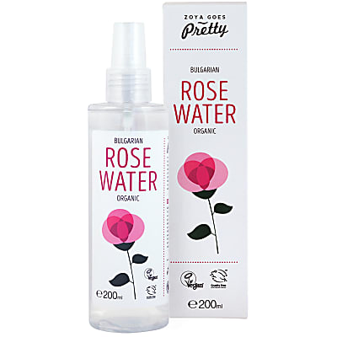 Zoya Goes Pretty Rose water organic 200ml - Bulgaria