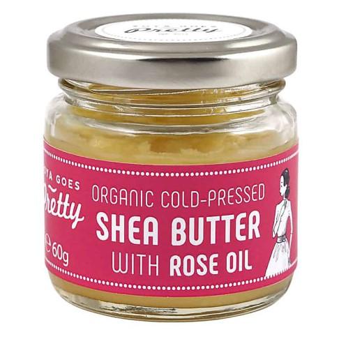 Zoya Goes Pretty Shea & Rose butter - cold-pressed & organic - 60g