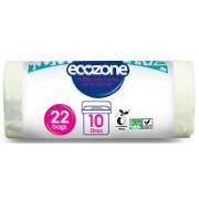 Ecozone Eco Compostable Bag 10L - 22 bags