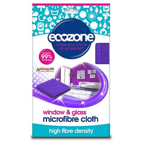 Ecozone Window & Glass Microfibre Cloth