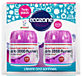 Ecozone Forever Flush Toilet Block 2000 - Indigo Twin Pack