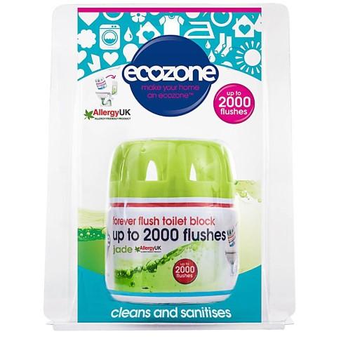 Ecozone Forever Flush Toilet Block 2000 - Jade