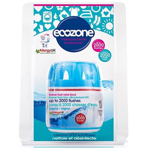 Ecozone Forever Flush Toilet Block 2000 - Blue