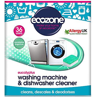 Ecozone Eucalyptus Washing Machine & Dishwasher Cleaner (36 tablets)