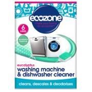 Ecozone Eucalyptus Washing Machine & Dishwasher Cleaner (6 tablets)