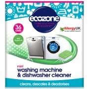 Ecozone Mint Washing Machine & Dishwasher Cleaner (36 tablets)