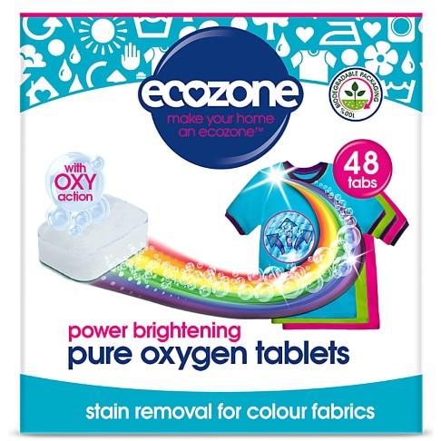 Ecozone Pure Oxygen Brightener Tablets - 48 Tabs