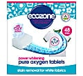 Ecozone Pure Oxygen Whitener Stain Removal Tabs for Whites - 48 tabs