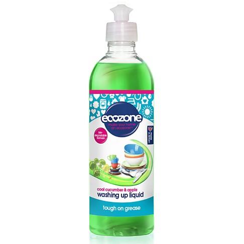 Ecozone Washing Up Liquid - Cool Cucumber & Apple