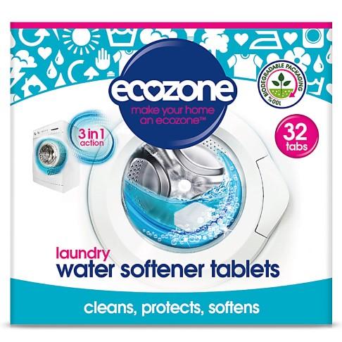 Ecozone Laundry Water Softener Tablets - 32