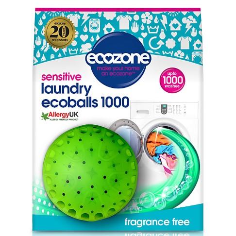 Ecozone Ecoballs 1000 washes - Fragrance Free