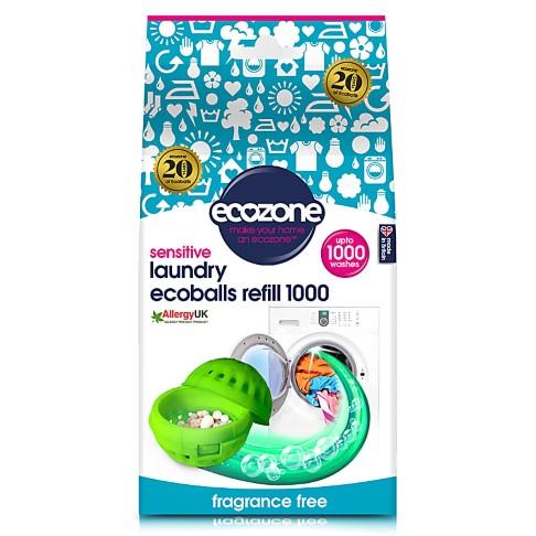 Ecozone Ecoballs Refills 1000 - Fragrance Free